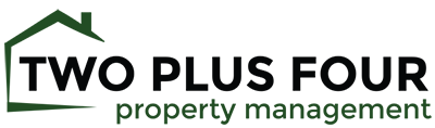 Two Plus Four Property Management Logo